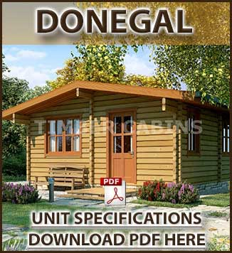 Donegal Timber Houses and Log Cabins in Dublin and Ireland Brochure in Dublin and Ireland. We manufacture and fit timber and log cabins in Ireland.